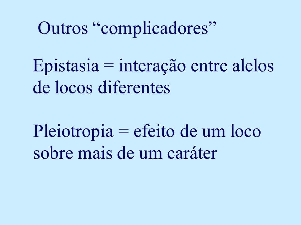 Outros complicadores