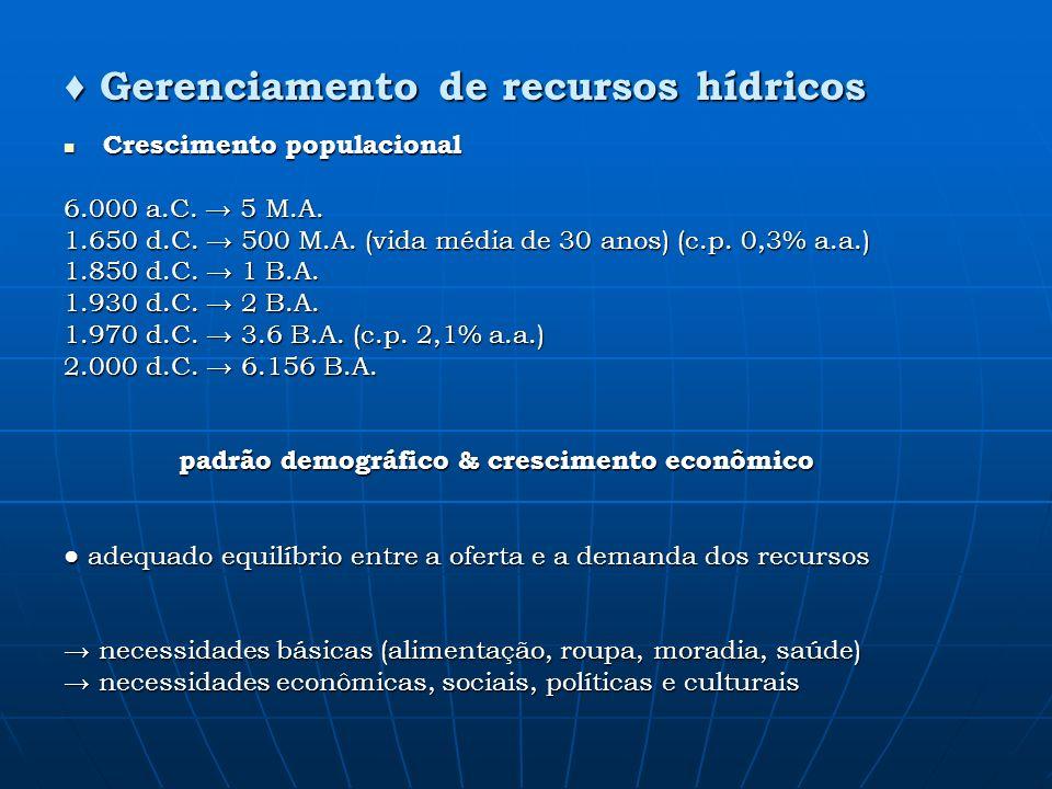 padrão demográfico & crescimento econômico