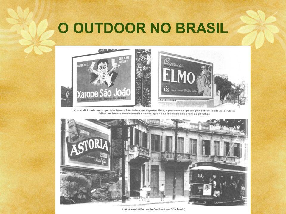 O OUTDOOR NO BRASIL