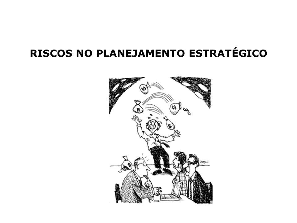 RISCOS NO PLANEJAMENTO ESTRATÉGICO