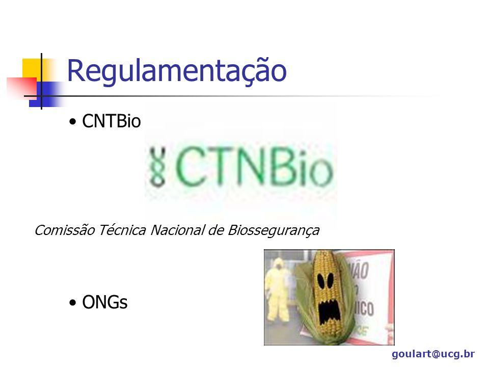 Regulamentação CNTBio ONGs Comissão Técnica Nacional de Biossegurança