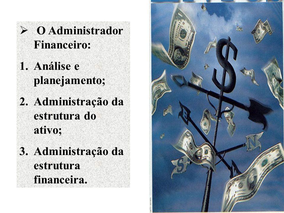 O Administrador Financeiro: