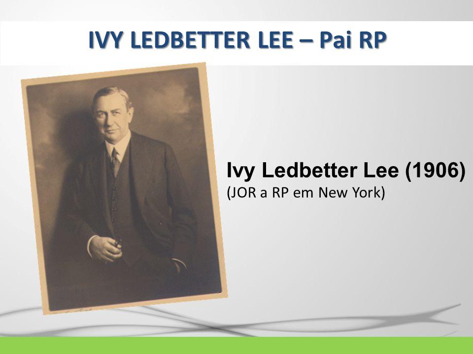 IVY LEDBETTER LEE – Pai RP