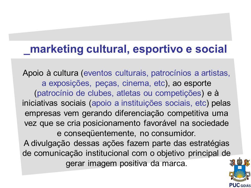 _marketing cultural, esportivo e social
