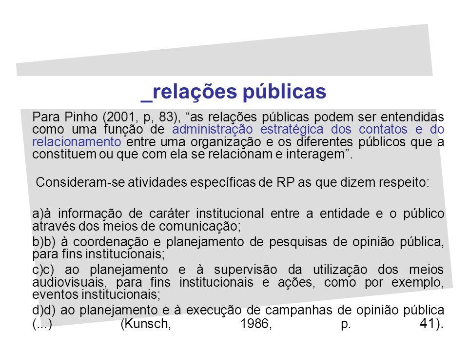 _relações públicas
