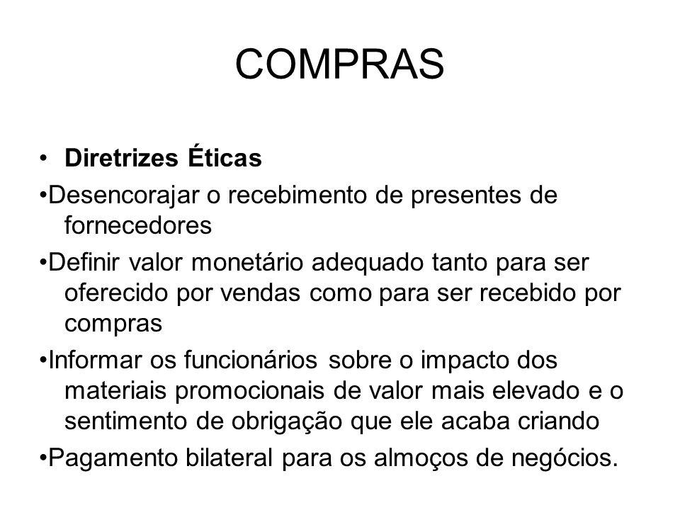 COMPRAS Diretrizes Éticas