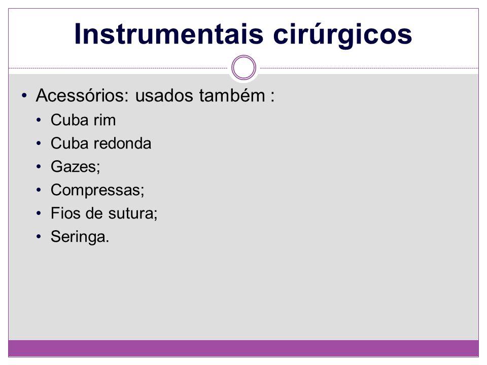 Instrumentais cirúrgicos