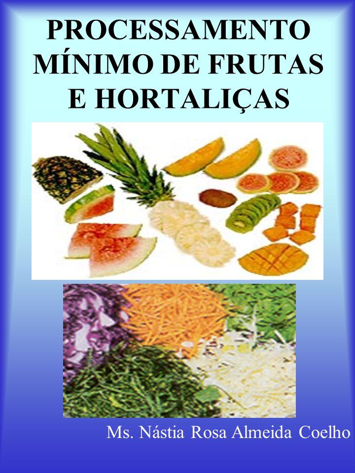 PROCESSAMENTO MÍNIMO DE FRUTAS E HORTALIÇAS
