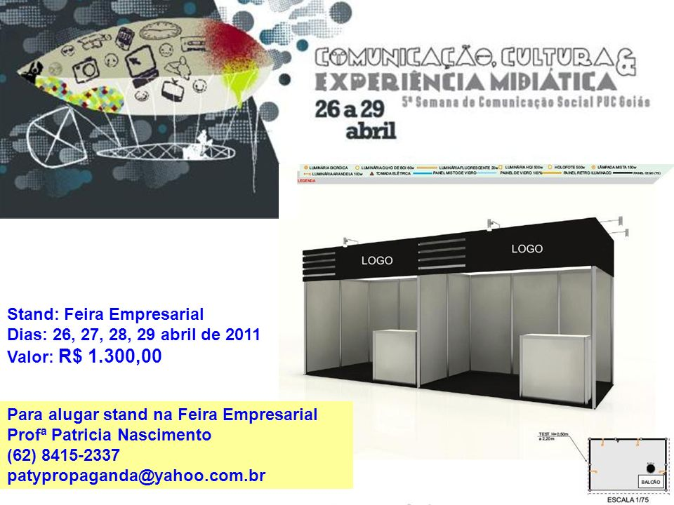 Stand: Feira Empresarial