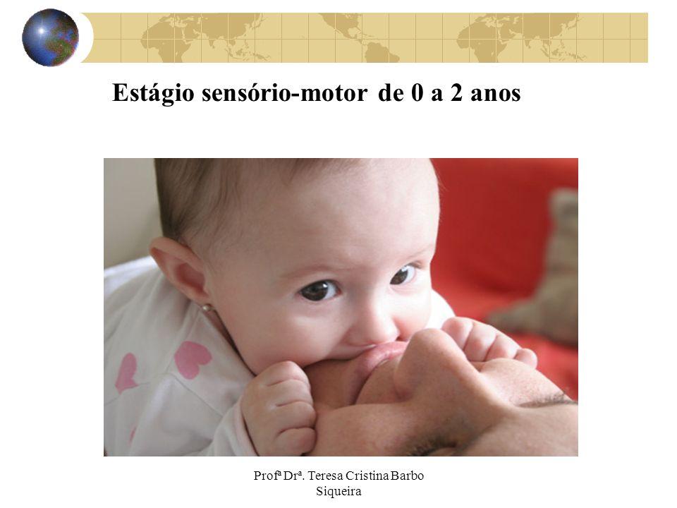 Estágio sensório-motor de 0 a 2 anos