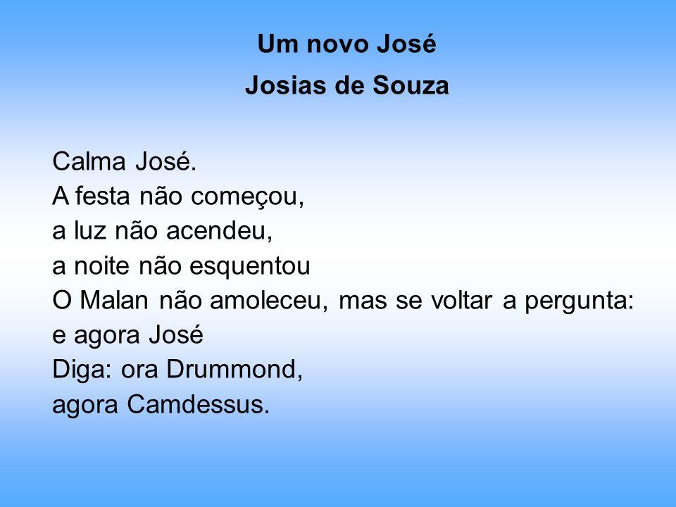 Um novo José Josias de Souza. Calma José. A festa não começou, a luz não acendeu, a noite não esquentou.