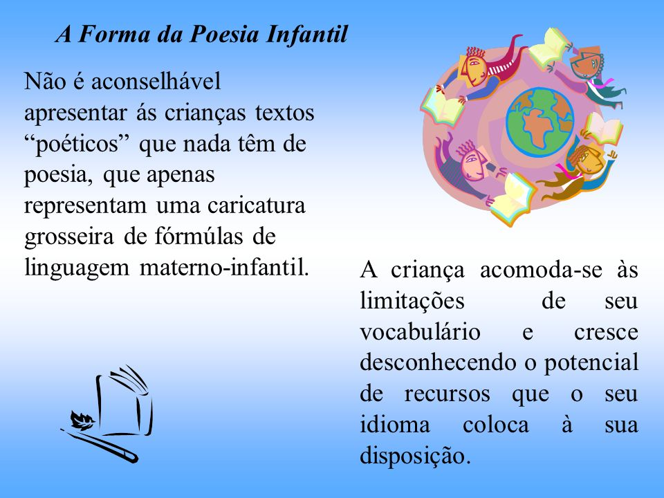 A Forma da Poesia Infantil