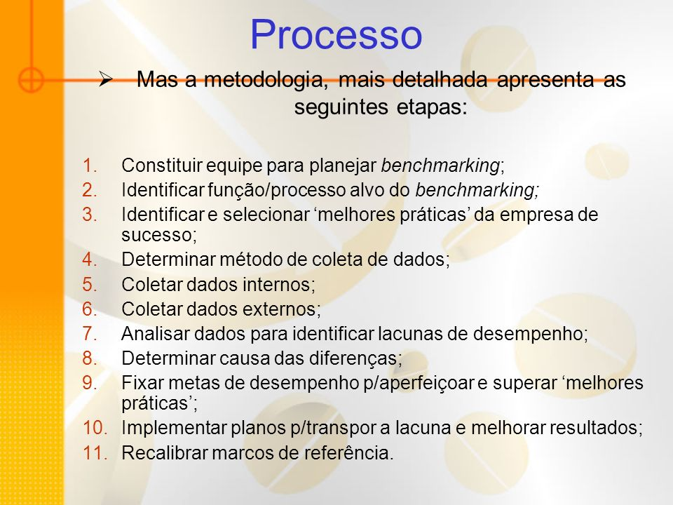 Mas a metodologia, mais detalhada apresenta as seguintes etapas: