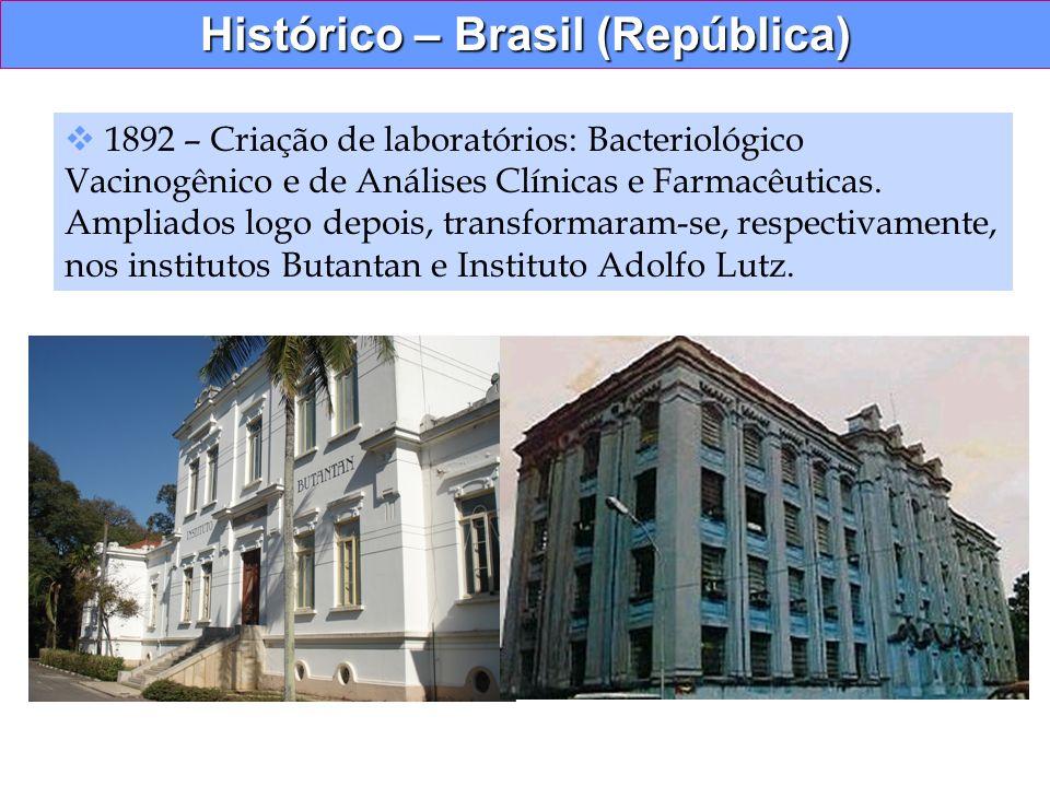 Histórico – Brasil (República)