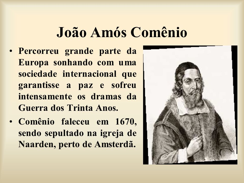 João Amós Comênio