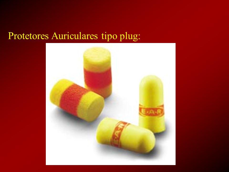 Protetores Auriculares tipo plug: