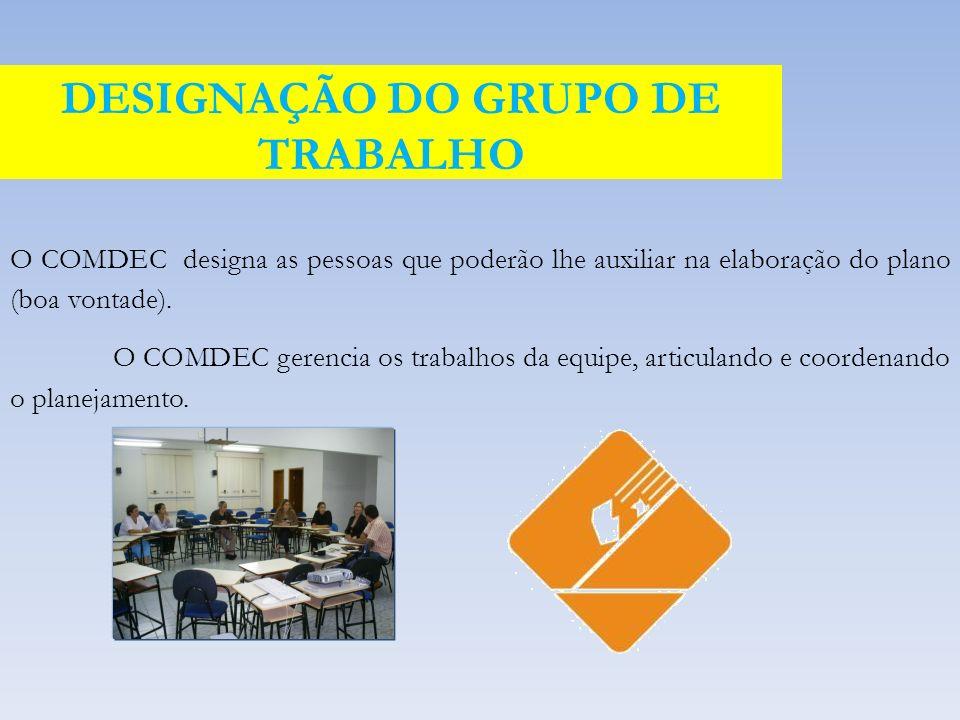 DESIGNAÇÃO DO GRUPO DE TRABALHO