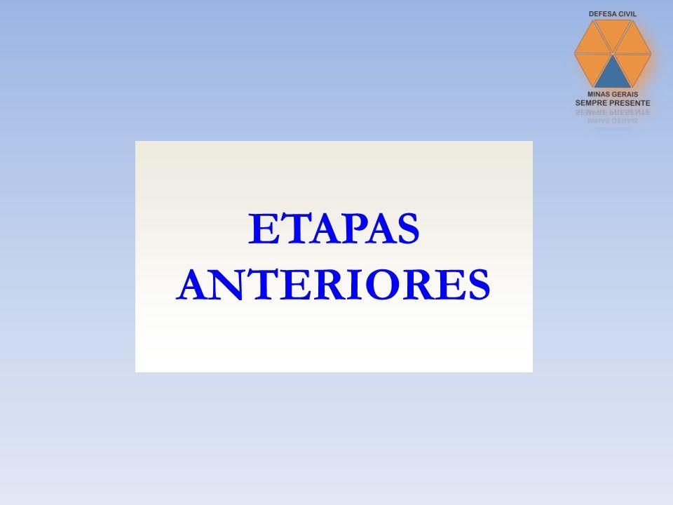 ETAPAS ANTERIORES