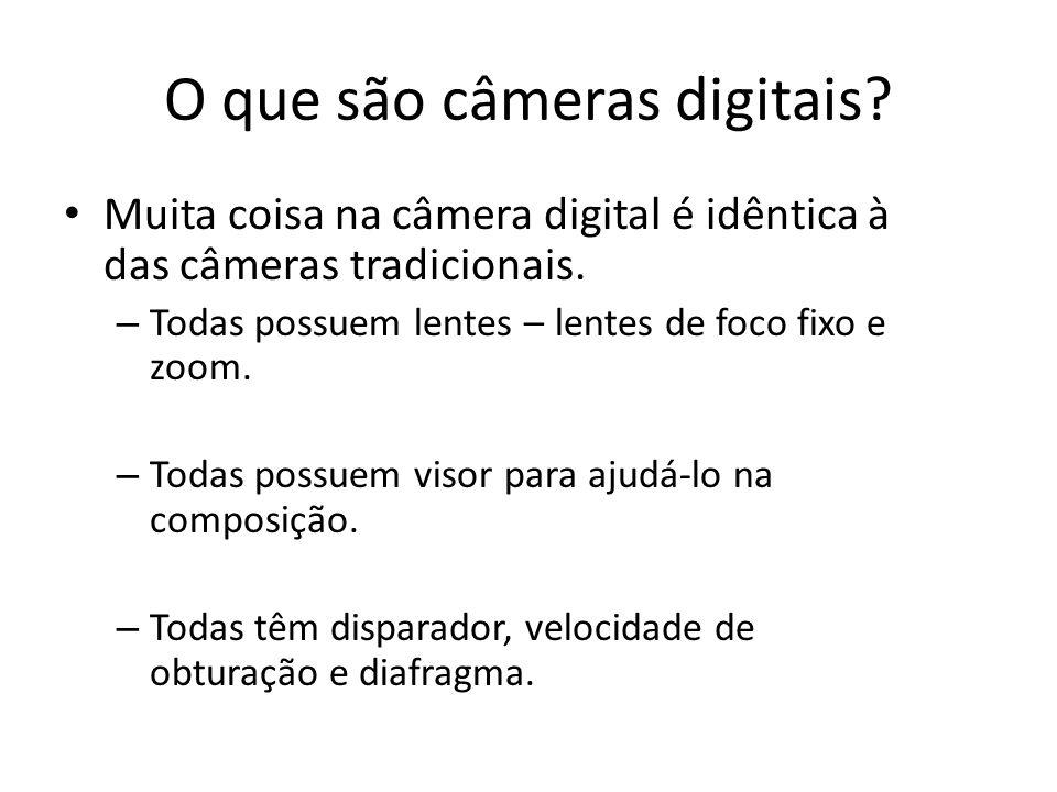 O que são câmeras digitais