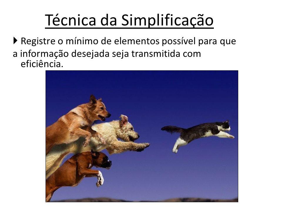 Técnica da Simplificação
