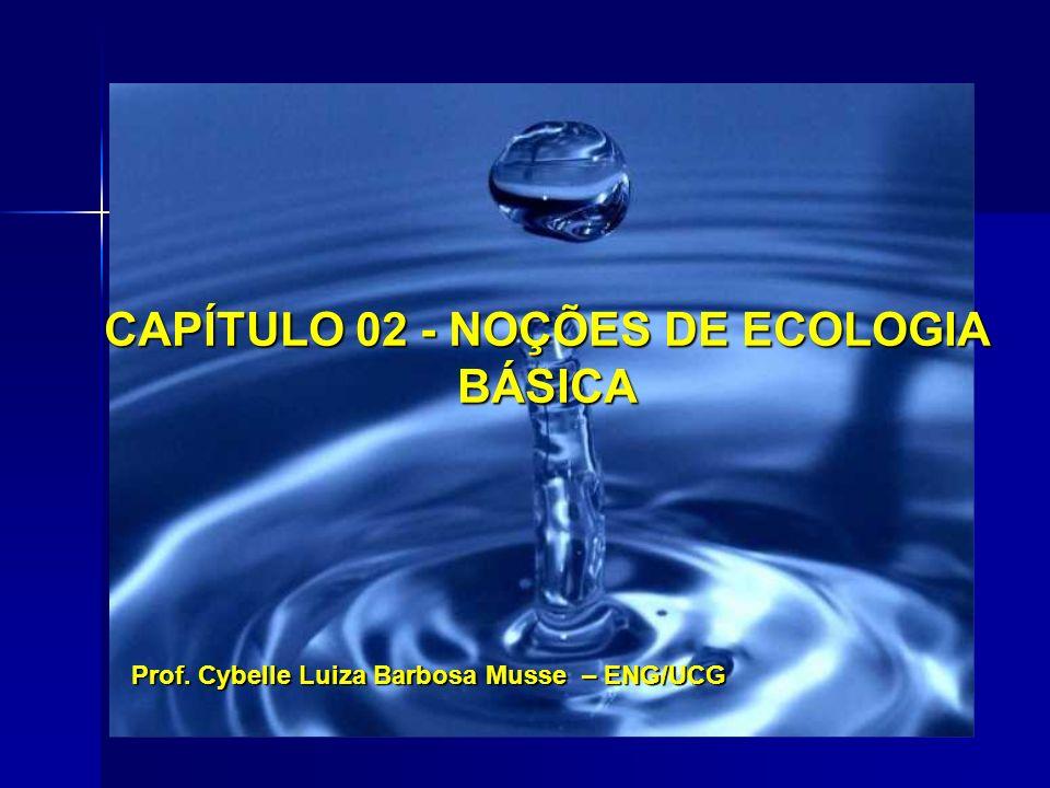 CAPÍTULO 02 - NOÇÕES DE ECOLOGIA BÁSICA