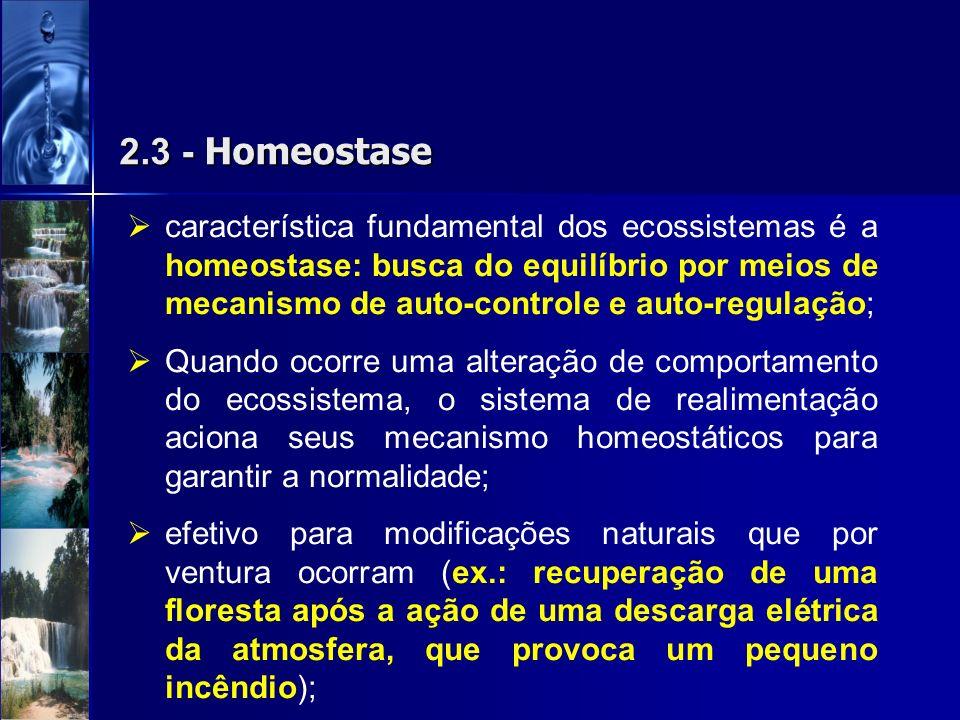 2.3 - Homeostase