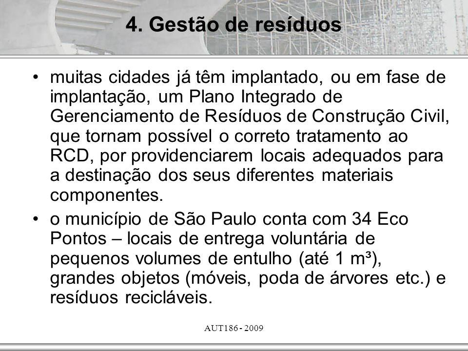 4. Gestão de resíduos
