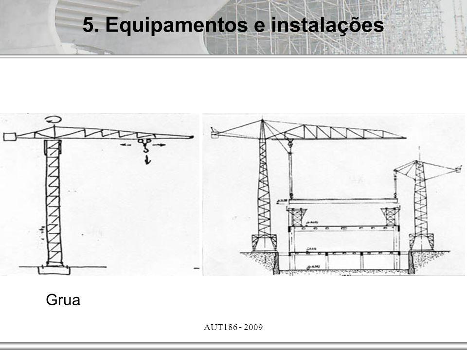 5. Equipamentos e instalações