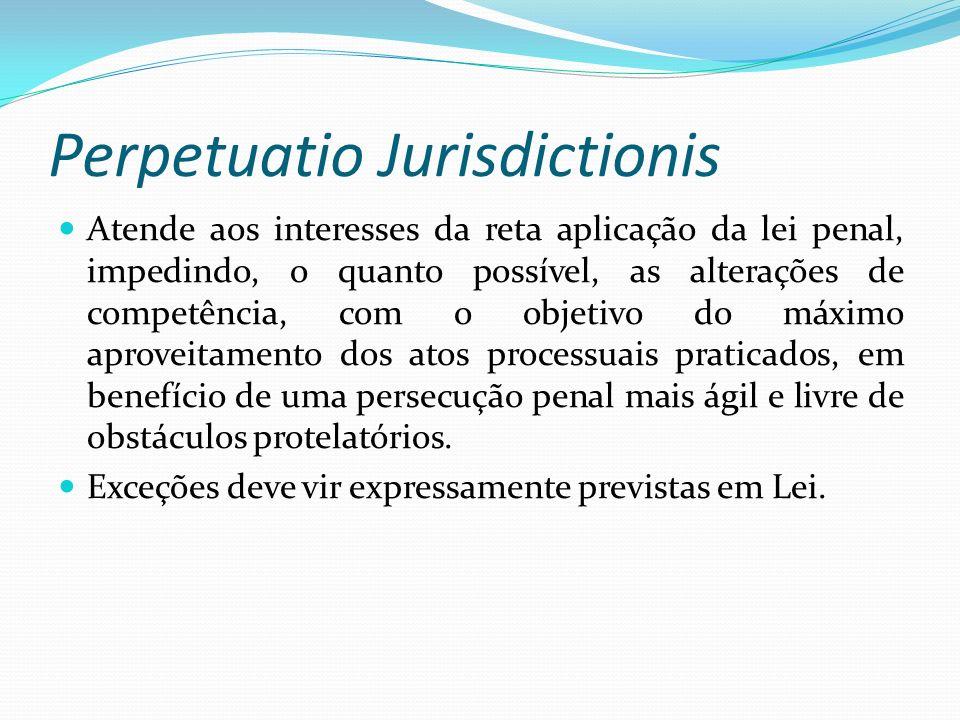 Perpetuatio Jurisdictionis