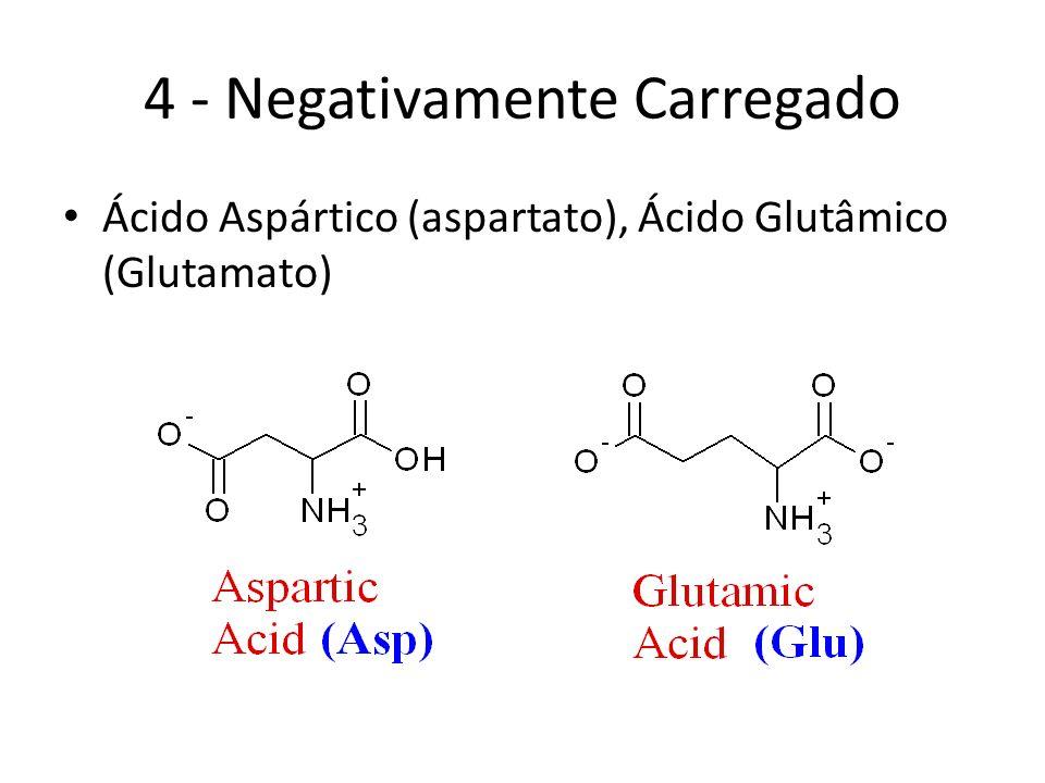 4 - Negativamente Carregado