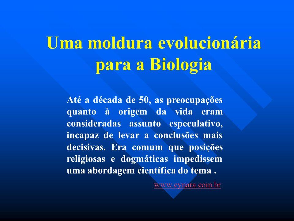 Uma moldura evolucionária para a Biologia
