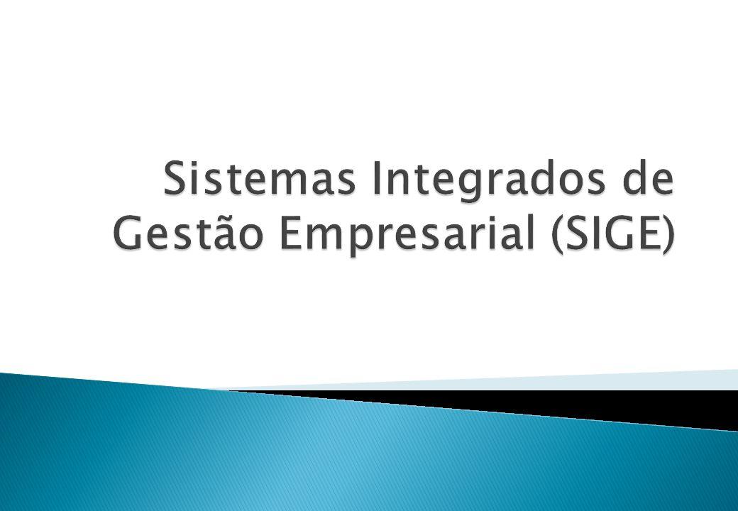 Sistemas Integrados de Gestão Empresarial (SIGE)