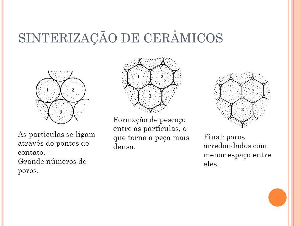 SINTERIZAÇÃO DE CERÂMICOS
