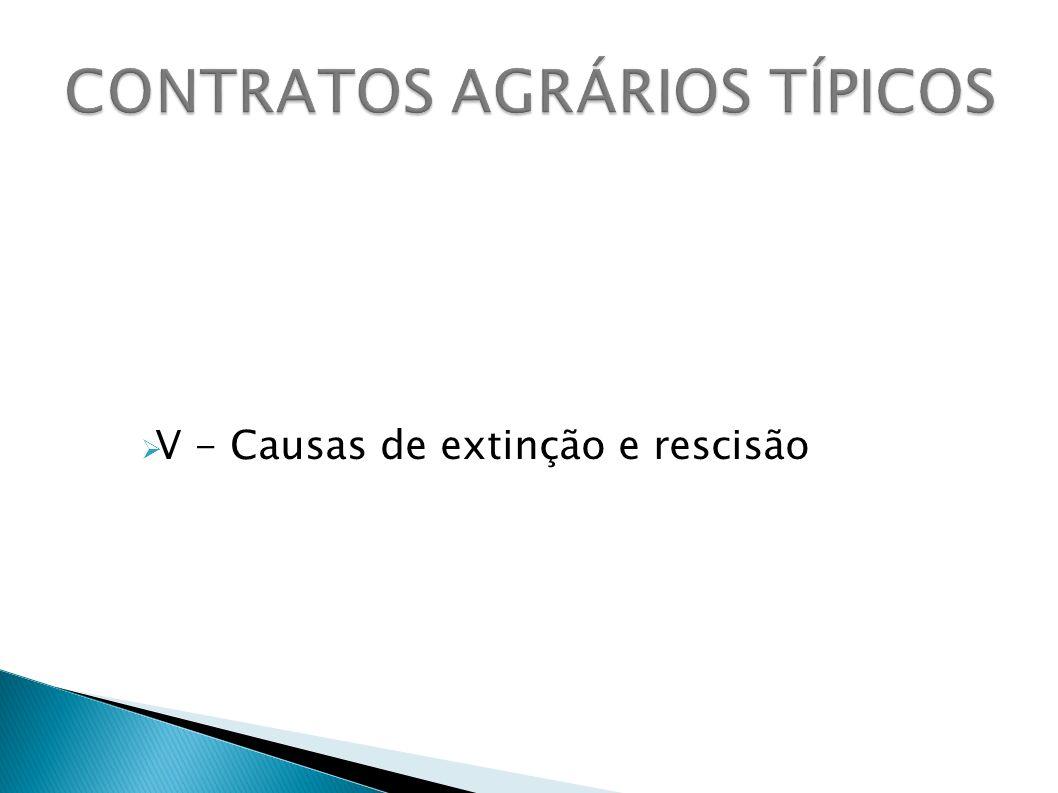 CONTRATOS AGRÁRIOS TÍPICOS