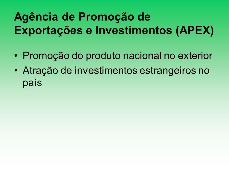 Agência de Promoção de Exportações e Investimentos (APEX)