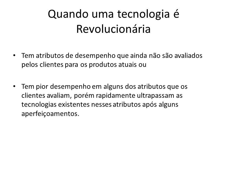 Quando uma tecnologia é Revolucionária