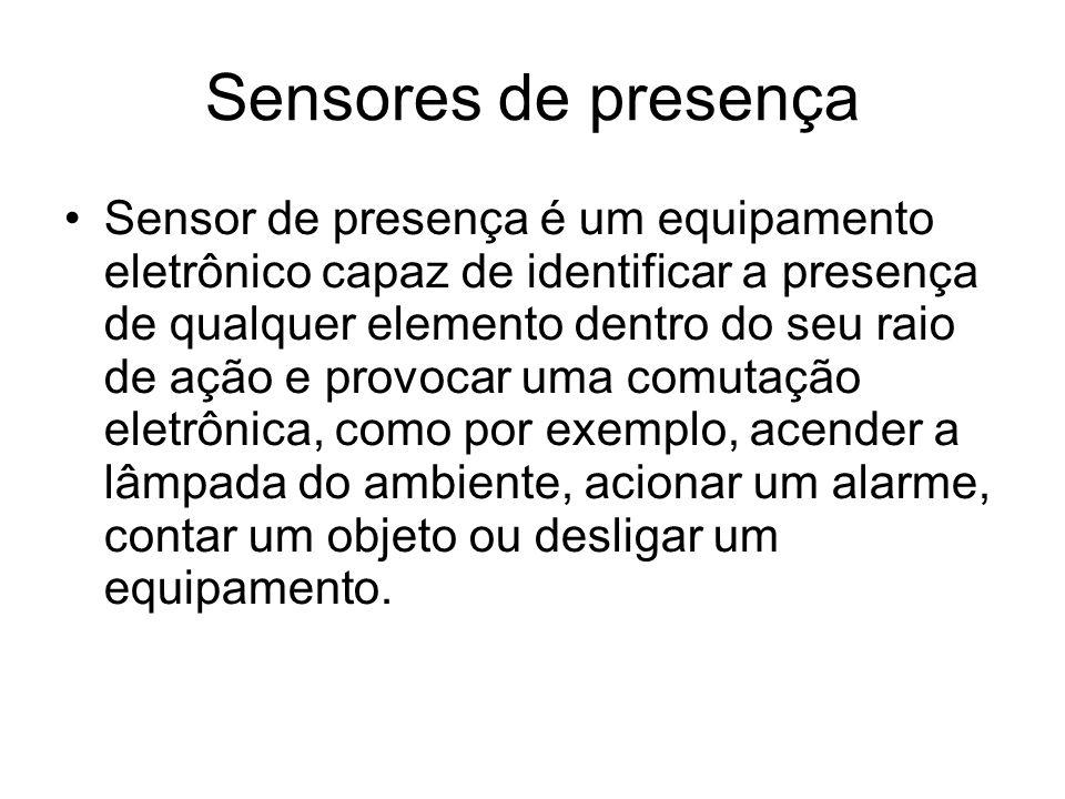 Sensores de presença