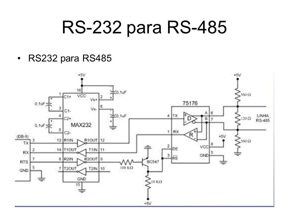 RS-232 para RS-485 RS232 para RS485