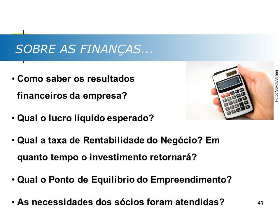 SOBRE AS FINANÇAS... Como saber os resultados financeiros da empresa
