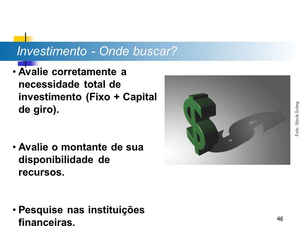 Investimento - Onde buscar
