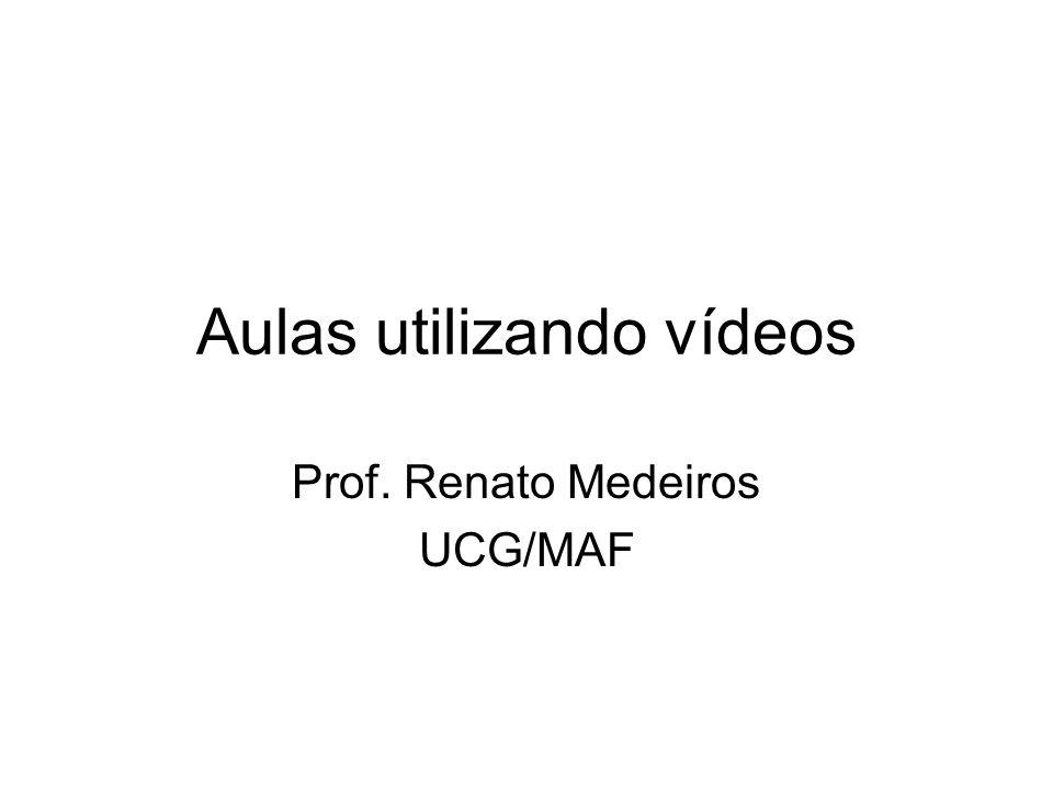 Aulas utilizando vídeos