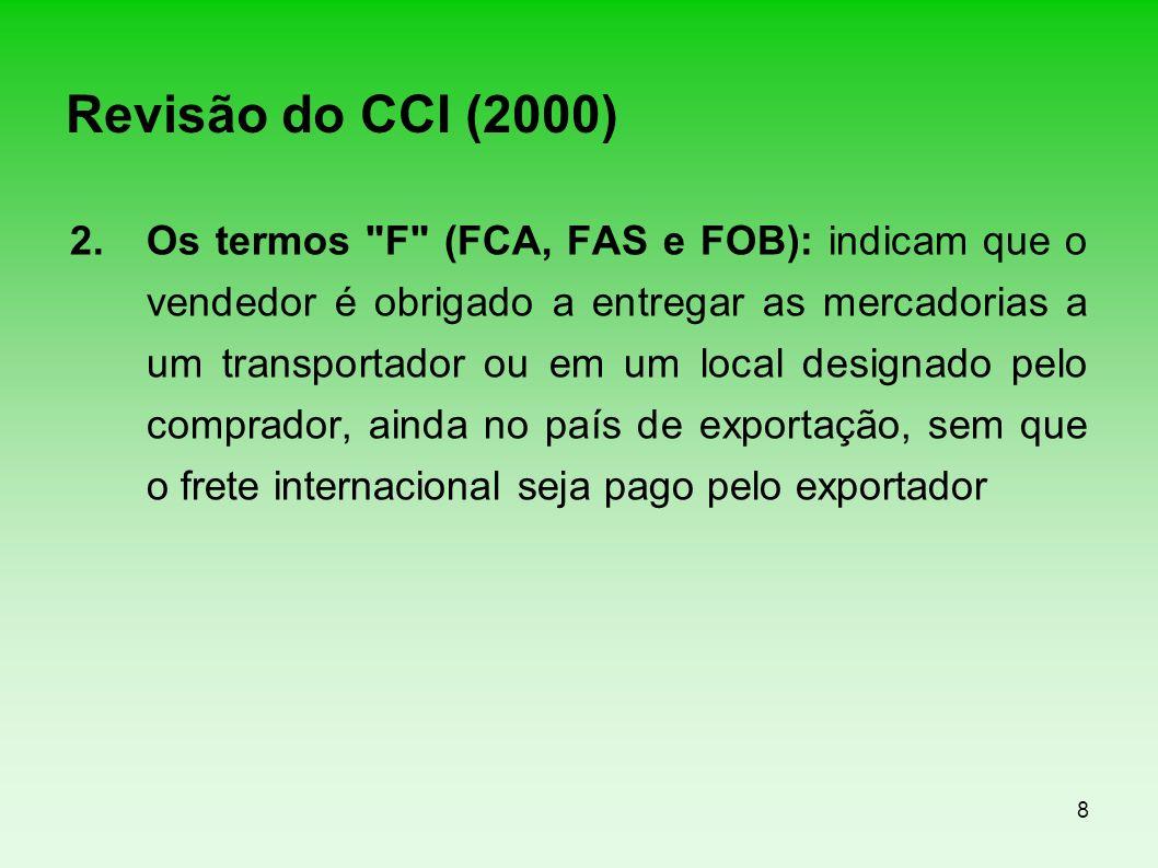 Revisão do CCI (2000)