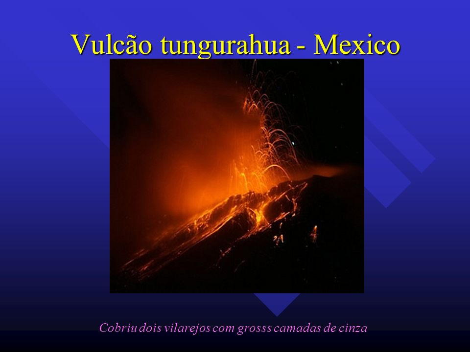 Vulcão tungurahua - Mexico