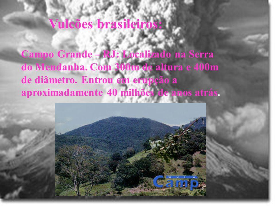 Vulcões brasileiros: