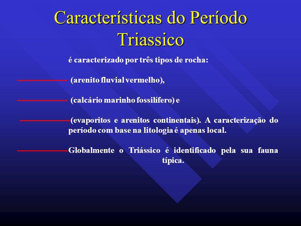Características do Período Triassico