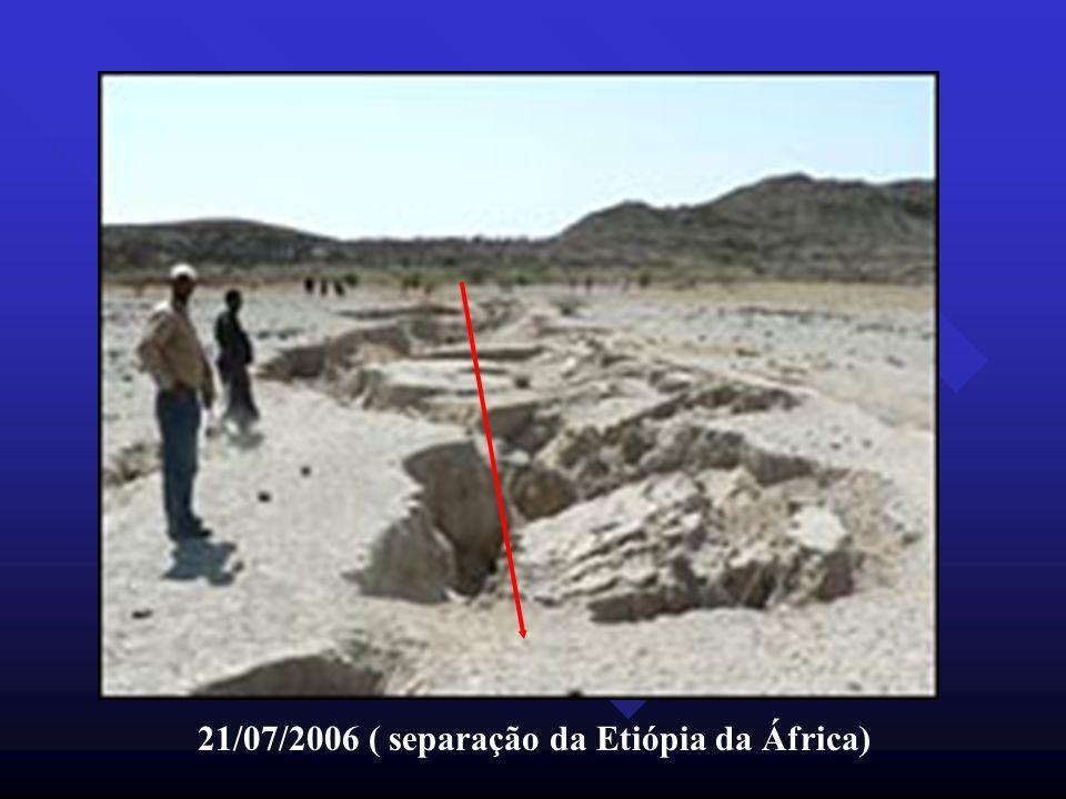 21/07/2006 ( separação da Etiópia da África)