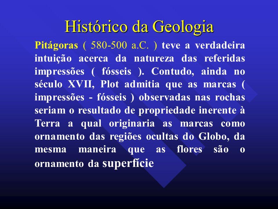 Histórico da Geologia