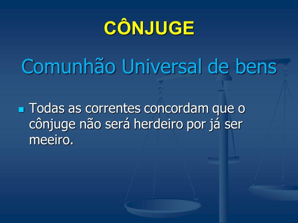 Comunhão Universal de bens