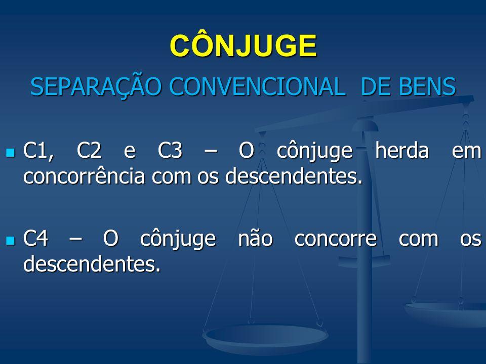 SEPARAÇÃO CONVENCIONAL DE BENS