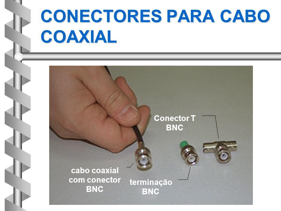CONECTORES PARA CABO COAXIAL
